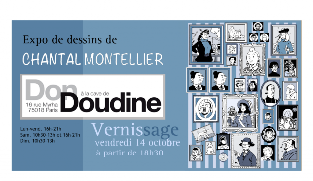 Vernissage vendredi 14 octobre