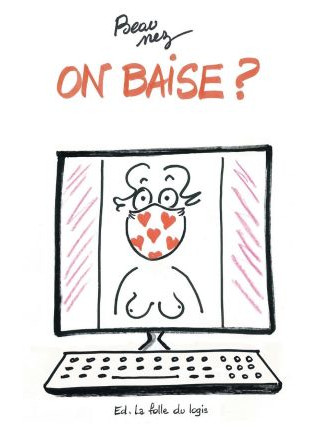 "Facsimilé de la couverture de ""On Baise"" de Catherine Beaunez"